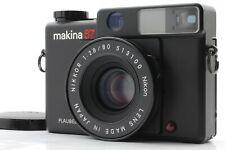 【Near Mint+++】 Plaubel Makina 67 Medium Format Camera w/ Nikkor 80mm F/2.8 JAPAN