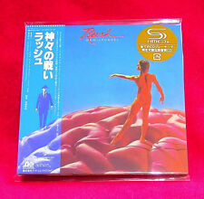 Rush Hemispheres SHM MINI LP CD JAPAN WPCR-13477