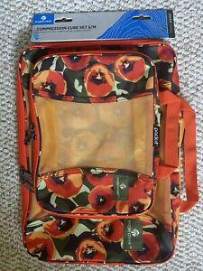 Eagle Creek Pack It Original Compression Cube Set, S and M Cube Camo Tulip Print