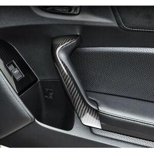 Carbon Fiber Interior Door Handle Cover Trim Fit For Toyota 86 BRZ 2013-2018