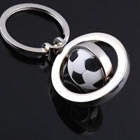 Sport-drehender Fußball-Keychain Schlüsselring--Schlüsselfob-Geschenk NEU HOT