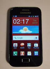 Samsung Galaxy Ace GT-S7500, black, originally from Virgin but EE sim works too