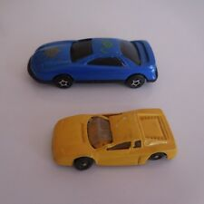 2 Coches Miniaturas Sport Ferrari NEW WAY Ford Fabricado En China Pn Francia
