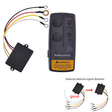 65ft Wireless Winch Remote Control Kit Switch Handset Car ATV SUV UTV Universal