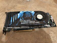 BFG NVIDIA GeForce 8800 GTX OC 768mb PCIe Video Card CPU MINT