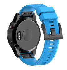 DE Silikon Quick Install Armband Strap Uhrenarmbänd für Garmin Fenix 5 GPS Watch