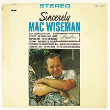 MAC WISEMAN Sincerely Mac Wiseman LP NM- NM-