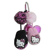 NEW Hello Kitty Mix and Match Tee/Ball Holder - BLACK/PINK