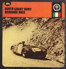 AOSTA-GREAT SAINT BERNARD RACE 1954 Lancia D24 CARD