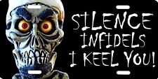 Achmed The Dead Terrorist Jeff Dunham Puppet Vanity Official License Plate Sign