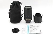 [ MINT ] Nikon AF-S VR NIKKOR 70-300mm F/4.5-5.6G IF-ED Free/S from Japan #8145