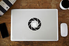 "Aperture Vinyl Decal Sticker for Apple MacBook Air/Pro Laptop 11"" 12"" 13"" 15"""