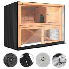 4FT Rabbit Hutch Cover Waterproof Garden Cage Covers Guinea Pig Pet Protector