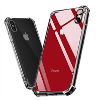 Hybrid Shockproof Clear Case For iPhone 11 Pro Max XS Max XR X 6 6s 7 8 Plus