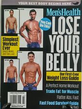 Men's Health Lose Your Belly Weight Loss Guide Fat Muscle Abs FREE SHIPPING sb