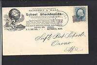 "NEW YORK,NEW YORK 1894 #231 COLUMBIAN COMMEMORATIVE,ADVT. ""ATLAS RUBBER CO""."