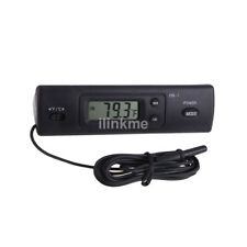 Digital Thermometer Auto LCD Display In Out Clock for Car Aquarium Thermometer