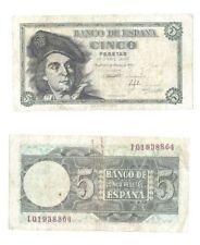 Billets de l'Europe de l'Espagne