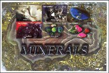 Gambia 2003 Amethyst/Opal/Ruby/Lapis/Minerals/Crystals/Gem Stones 6v sht  n46282