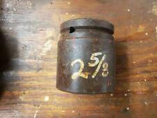 """Wright 84842 2-5/8 X 1-1/2 Drive Impact Socket Usa 2-5/8"""" X 1-1/2"""""""
