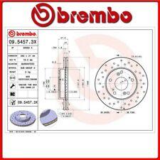 09.5457.3X#12 DISCO FRENO ANTERIORE SPORTIVO BREMBO XTRA HONDA CR-Z (ZF) 1.5 Hyb