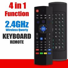 Air Fly Mouse MX3 81Key 2.4G Wireless Keyboard Remote Control For Android TV Box