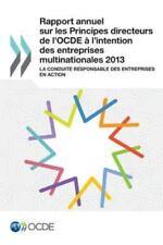 Rapport Annuel Sur les Principes Directeurs de l'Ocde a l'Intention des...