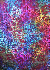 Indian Star Hippie Mandala Psychedelic Wall Hanging Tapestry Ethnic Fllower Art
