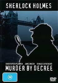 Sherlock Holmes DVD MURDER BY DECREE Crime Thriller - Region 4 Rare