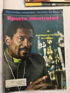 December 23 1968 ~ Sports Illustrated Magazine ~ Bill Russell Boston Celtics