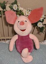 "Disney Mattel Piglet/Winnie the Pooh/25"" Jumbo Huge Plush Stuffed Animal EUC"