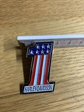 Pin Anstecker Emblem Sticker Weste Kutte Harley Davidson Logo 1 USA