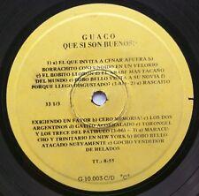 LATIN EP: GUACO: Que Si Son Buenos RICARDO PORTILLO, TOMÁS AQUINO FONT, EL CHINO