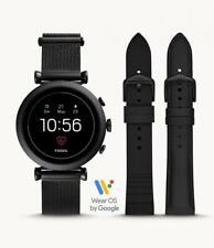 Womens Smartwatch FOSSIL SLOAN FTW6055SET Steel Black Mesh GEN 4