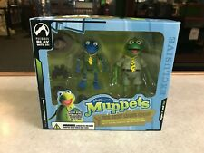 2005 Palisades The Muppet Show FROG SCOUT LEADER KERMIT Wizard World Figure NIB
