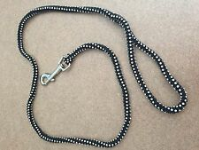 REDUCED Brand new 4 Ft Austrian Crystal dog leash...Perfect For Gift Giving!