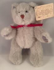 Russ Bears From The Past #350 GREY Jointed Handmade Wtags EUC 7""