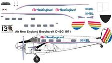 Air New England Beech 18 C-45 decals for Pioneer 2 1/72 scale