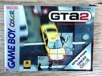 Notice seul Nintendo Game boy color GTA 2 livret instruction FR