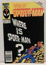 Web of Spider-Man #18. First Appearance of Venom !