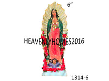 Our Lady Of Guadalupe/ Virgen Maria De Guadalupe Statue 1314-6