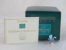 "WDCC Enchanted Places Disney's ""Unicorn"" Fantasia Miniature in Box with COA"