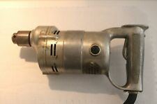 Early Vintage ?/16 Milwaukee Electric Type S -136 Hole Shooter Drill Tool 3 AMPS