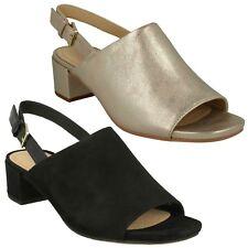 Women's Clarks Orabella Ivy Sandals in Black UK 6 / EU 39 1/2
