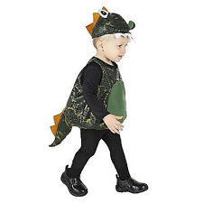 Infant Baby 1-2 Years Green Dragon Halloween Costume NEW Body Suit & Hat Cute