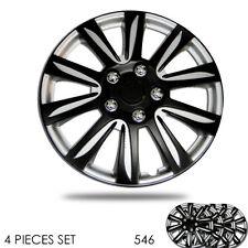 New 15 inch Hubcaps Silver Rim Wheel Covers Hub Cap Full Lug Skin For Mazda 546