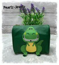 Loungefly Disney Pixar Toy Story Rex Cosmetic Bag Brand New BoxLunch Exclusive