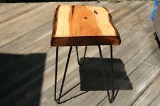 Accent, Live Edge Table - Black Walnut,Wood Slab,Plant Stand, Stool, End Table,