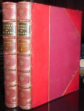 SIGNED FINE LEATHER BINDINGS, ROOT & SON, STATELY HOME OF ENGLAND, JEWITT, 1881