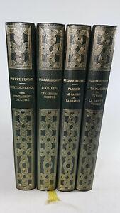 Pierre BENOIT lot 4 volumes 1968 Académie française oeuvres illustrées littératu